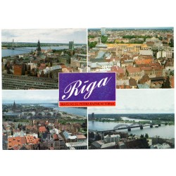 Riga postcards -  view from Tower