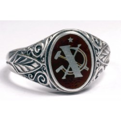 10 Year Service Ring of a KGB Officer