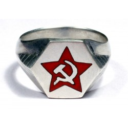 Red Army Officer`s ring