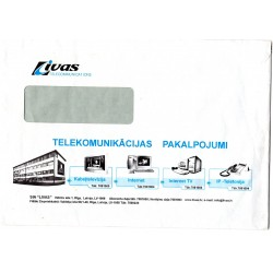 Latvian Phone Bill Envelope (Livas)