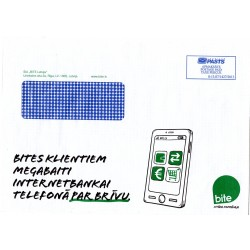 Latvian Phone Bill Envelope (BITE)