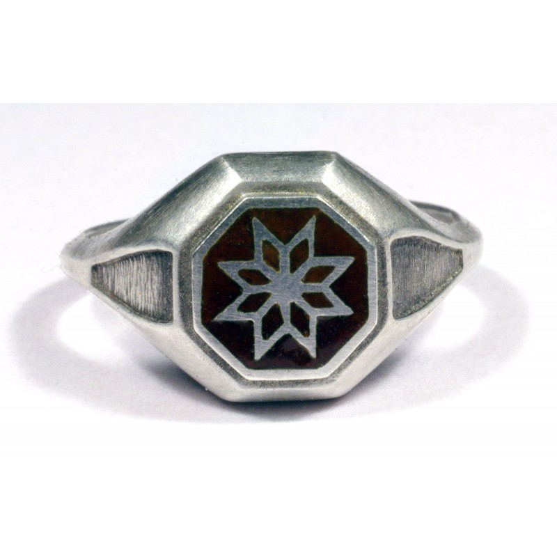 Vintage Morning Sterling Silver Ring