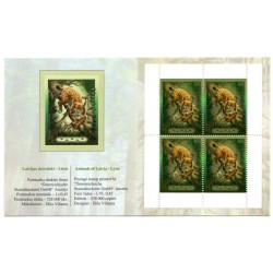 Exhibition sets -Animals of Latvia-Lynx