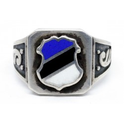 Estonia silver ww2 ring