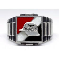 WW1 Patriotic Ring der stahlhelm