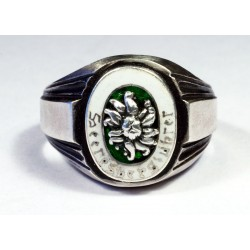 GERMAN WWII ALPEN DIVISION ring
