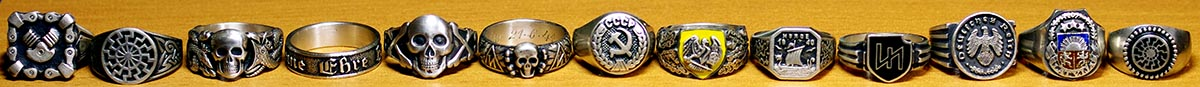 German rings and other war awards