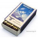 WW2 Nazi German Waffen SS Vintage matchbox