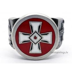 KKK , Ku Klux Klan Member Sterling Silver Ring