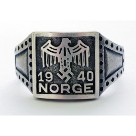 GERMAN NORGE 1940 5th Norwegian Wiking Div. Ring