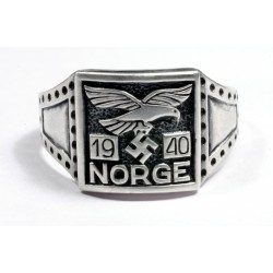 WWII NORGE 1940 5th Norwegian Wiking Div. Ring