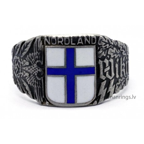 German WW II Wiking division Finish signet ring