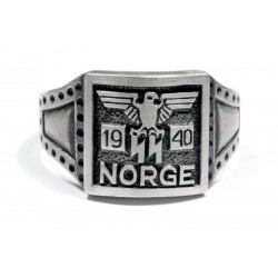 GERMAN NORGE 1940 5th Norwegian Wiking Div. Ring.