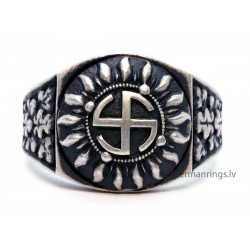 "GERMAN WW2 WAFFEN-SS 5th PANZER DIVISION "" WIKING""  ring"