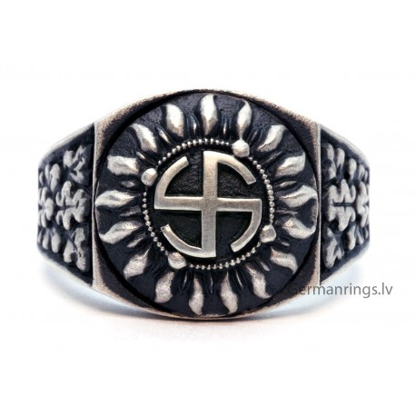 """GERMAN WW2 WAFFEN-SS 5th PANZER DIVISION """" WIKING""""  ring"""