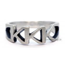 Ku Klux Klan Member Sterling Silver Ring (KKK ring)
