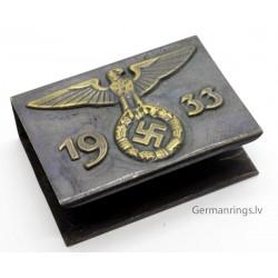 German WW2 NSDAP Eagle Propaganda Matchbox holder