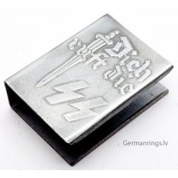 """German """"Dich ruft die SS"""" Propoganda Matchbox holder"""