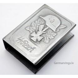 """""""SS Reich"""" Propoganda Matchbox Holder"""