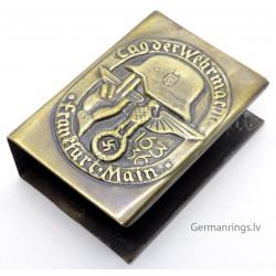 WW2 Nazi Propoganda Matchbox Holder