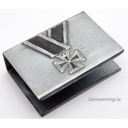WW2 German Iron Cross matchbox holder