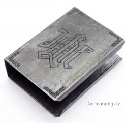 German WWII LAH Panzer Division Oficer Match box holder