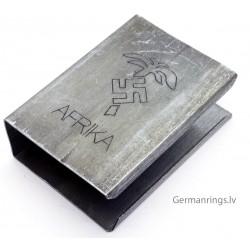 "German WWII ""AFRIKA"" Match box holder"