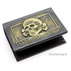 WW2 German SS-Totenkopf machbox holder