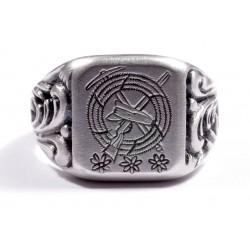 """Перстень - """"Эдельвейс""""."""