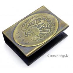 "German WW2 ""SS - REICH"" Propaganda Matchbox holder"