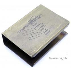 German Propaganda Matchbox holder ''Waffen SS''