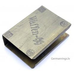 Waffen SS Propaganda Matchbox holder ''Waffen SS''