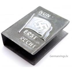 German Propaganda Matchbox holder ''NUN ERST RECHT''