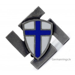 Finnish WW2 Volunteers Badge