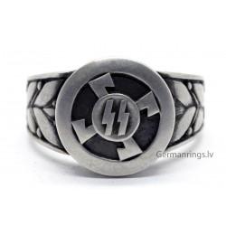 Silver - German WW2 Waffen SS Officers Ring