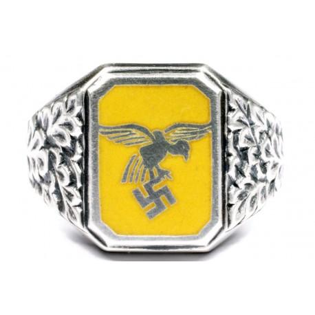 Немецкий WWII Люфтваффе Flieger кольцо