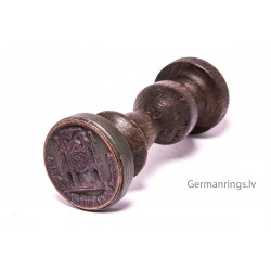 German WWII Seal Rubber Stamps