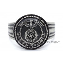 German WW2 SA Sturmabteilungen officer ring