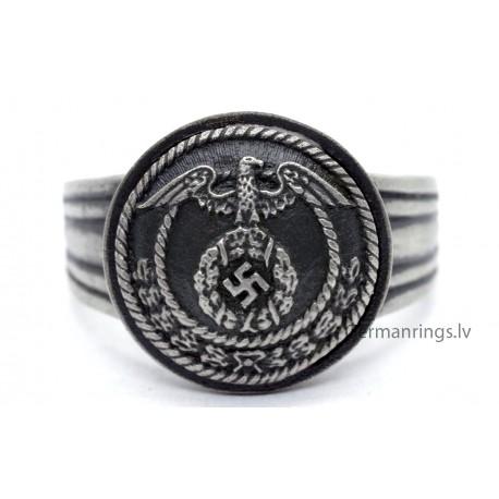 German WW2 SA Sturmabteilungen officer ring