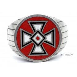 Silver KKK Klansman Ring