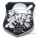 WWII German Helmet Iron Cross Army Pin Badge
