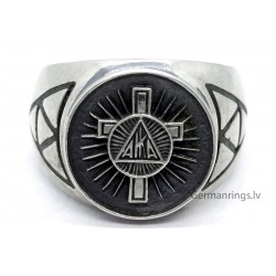 American AKIA (KU KLUX KLAN) Member Ring