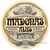 Latvian beer coaster - Madonas Alus