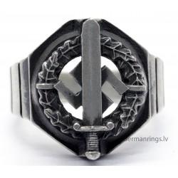 Geman WW2 Nazi Ring with Sword