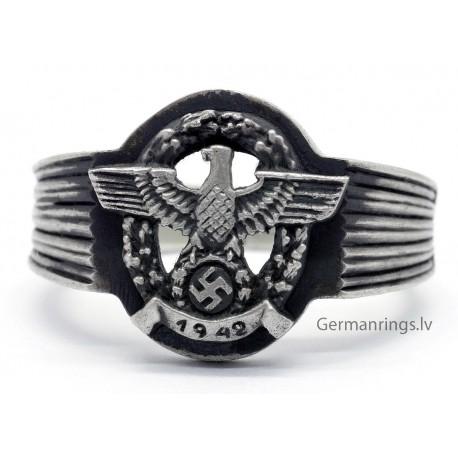 German WW2 1942 WEHRMACHT silver ring