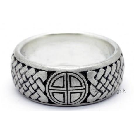 Viking runic ring