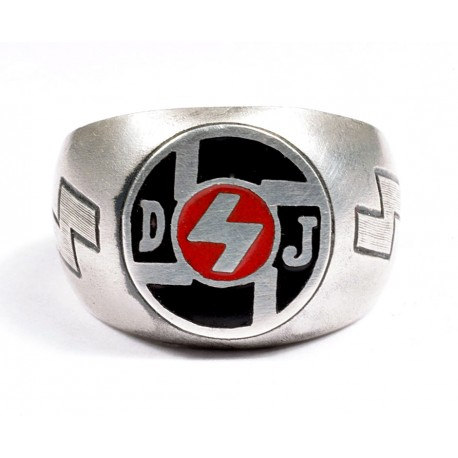 WW II Hitler Jugend sterling silver ring