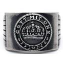 "Imperial German Signet Ring - ""Gott mit uns"""