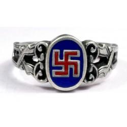 Sudraba NSDAP gredzens
