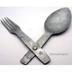WW2 German Fork Spoon Set
